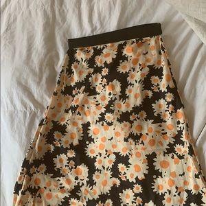 Realisation par-like high waist daisy skirt